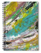 Abstract Piano 1 Spiral Notebook
