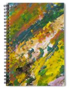 Abstract Piano 3 Spiral Notebook