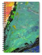 Abstract Piano 4 Spiral Notebook