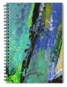 Abstract Piano 5 Spiral Notebook