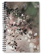Abstract Plant Spiral Notebook