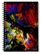 Abstract Pm Spiral Notebook