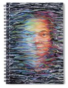 Abstract Portrait Spiral Notebook