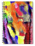 Abstract Poster Spiral Notebook