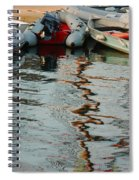Abstract Reflections Spiral Notebook