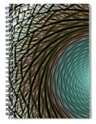 Abstract Ring Spiral Notebook
