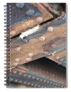 Abstract Rust 2 Spiral Notebook