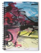 Abstract Sketch18 Spiral Notebook