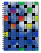 Square Sky Spiral Notebook