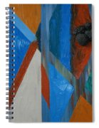 Abstract Space Spiral Notebook
