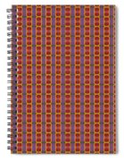 Abstract Square 16 Spiral Notebook