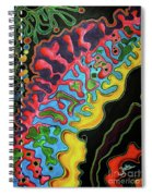 Abstract Thought Spiral Notebook