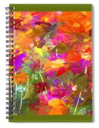 Abstract Thought Processes Spiral Notebook