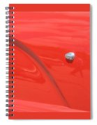 Abstract Thunder Spiral Notebook
