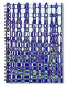 Abstract Time Spiral Notebook