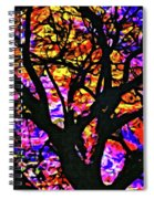 Abstract Tree 304 Spiral Notebook