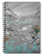 Abstract Tree Art 1 Spiral Notebook