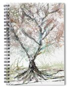 Abstract Tree Spiral Notebook