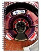 Abstract Trike Spiral Notebook