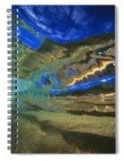 Abstract Underwater View Spiral Notebook