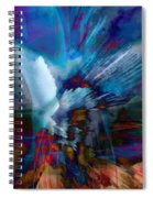 Abstract Visual Spiral Notebook