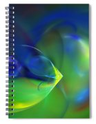 Abstract Water World 040411 Spiral Notebook