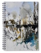 Abstract Watercolor 012130 Spiral Notebook
