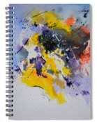 Abstract Watercolor 70075 Spiral Notebook