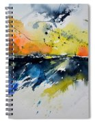 Abstract Watercolor 7007555 Spiral Notebook
