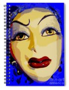Abstract Woman #2 Spiral Notebook