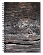 Abstract Wood Background  Spiral Notebook
