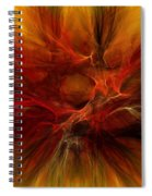 Abstract0610b Spiral Notebook