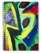 Abstract3 Spiral Notebook