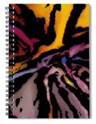 Abstract309g Spiral Notebook