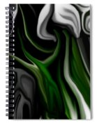 Abstract309h Spiral Notebook