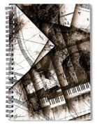 Abstracta 24 Cadenza Spiral Notebook