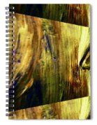 Abstracted Lines Spiral Notebook