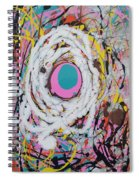 Abstraction #91  Spiral Notebook