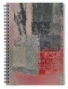 Abstractionnel Spiral Notebook