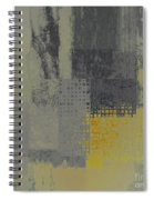 Abstractionnel - Ww59j121129158yll Spiral Notebook