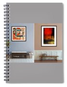 Abstracts By Edward M. Fielding Spiral Notebook