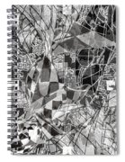 pERMEABLE aBSTRACTION  Spiral Notebook