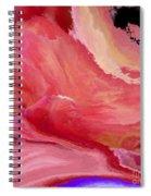 Abstrct In Pink  Spiral Notebook