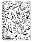 Abstruse Spiral Notebook