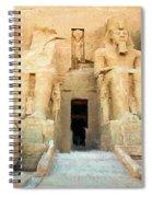 Abu Simbel 2 Spiral Notebook