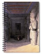 Abu Simbel Temple, 1838 Spiral Notebook