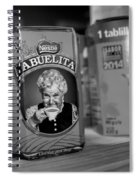 Abuelita Bw  Spiral Notebook