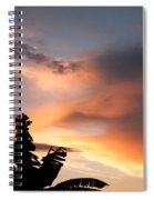 Abuja Sunset Spiral Notebook