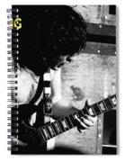 Ac Dc Spokane 1978 Spiral Notebook