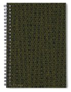 Acacia Fabric Design Spiral Notebook